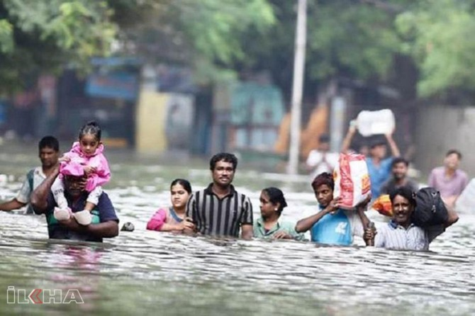 About 10 million people affected by floods in India