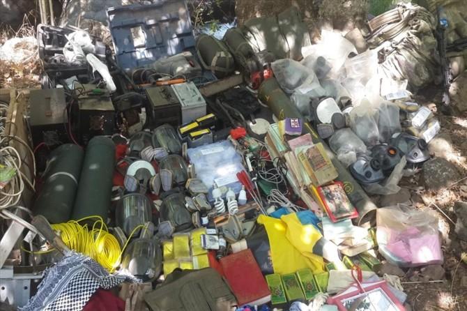 Pençe-2 Harekâtı'nda sığınaklar ve mağara tespit edildi