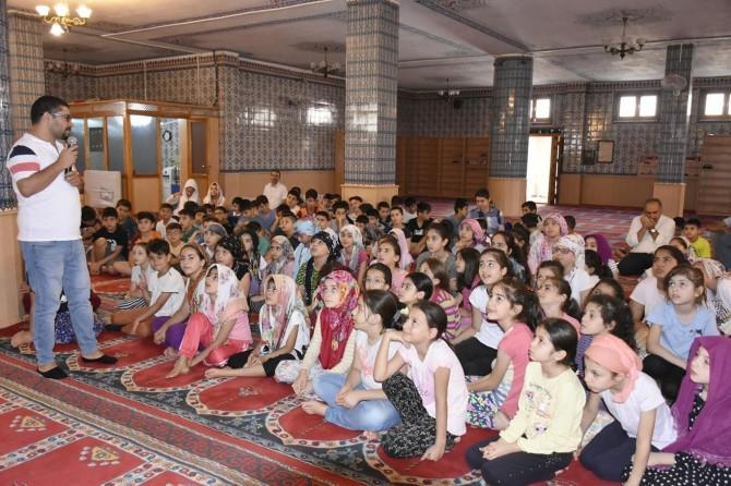 Mardin'de öğrencilere sağlıklı yaşam eğitimi