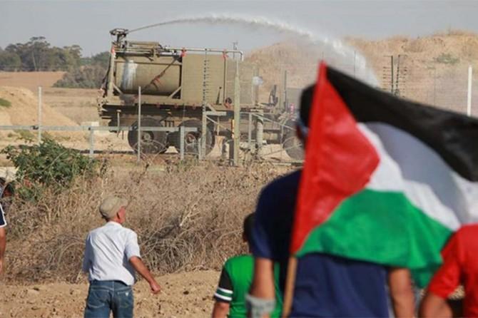 Siyonistlerin saldırısında 97 Filistinli yaralandı