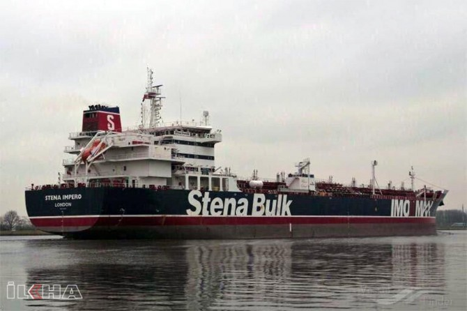 Iran seizes a British oil ship in Strait of Hormuz