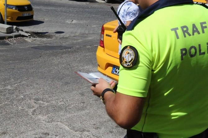 1551 taksi şoförüne para cezası