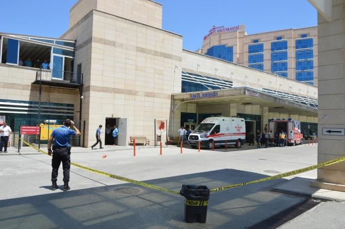 Şirvan'da meradaki kavga hastanede sürdü