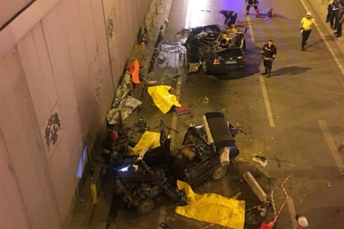 Konya Karatay'da trafik kazası: 7 ölü