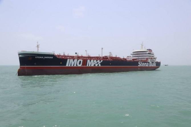 İran, İngiliz gemisine el konulma anına ait görüntüleri yayınladı
