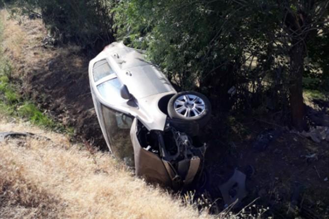 Solhan'da kaza: 1 kişi yaralandı