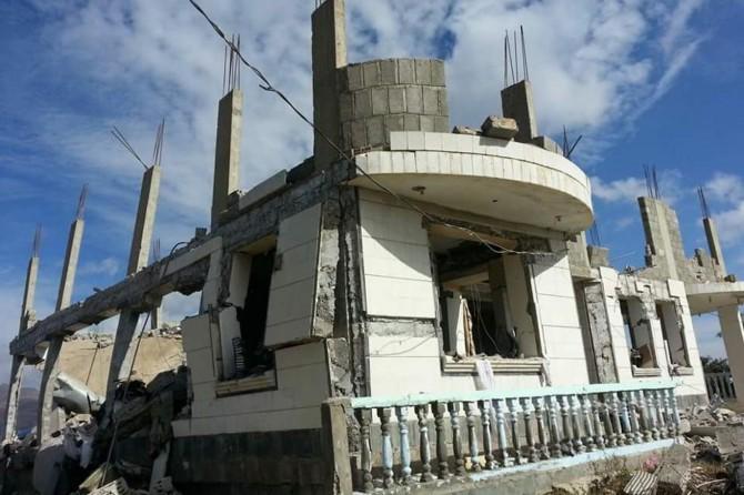 Siyonist terör çetesi Doğu Kudüs'te yıkıma başladı
