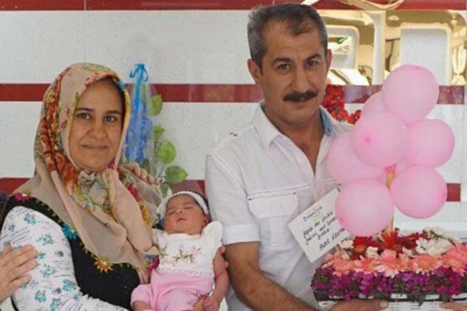 20 yıllık bebek hasretleri Gaziantep'te sona erdi