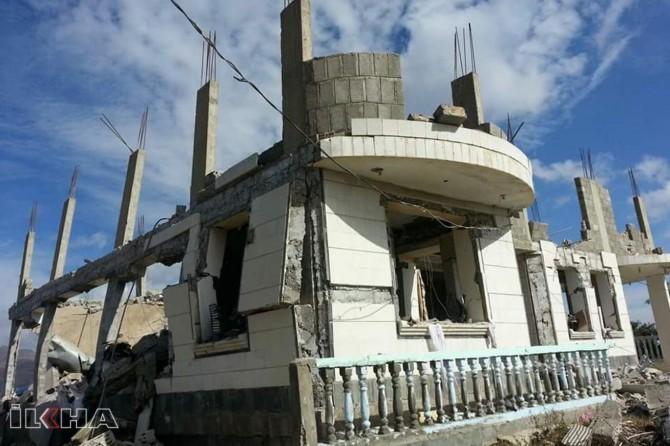 zionist terror gang begins destruction in East Jerusalem