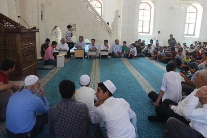 Adıyaman'da Kur'an kursları arası yarışma