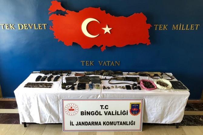 Bingöl'de 8 PKK'li öldürüldü