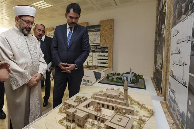 Bakan Kurum: Camilerin etrafında şekillenen bir sosyal hayat tasavvur ediyoruz