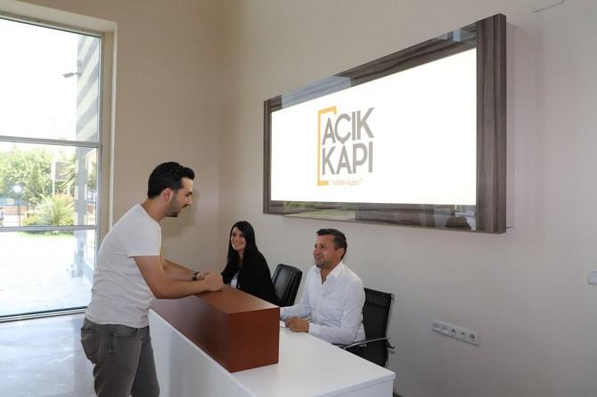 Cizre'de 'Açık Kapı' projesi hayata geçti
