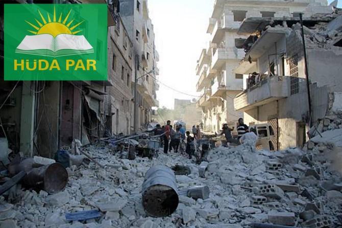 HÜDA PAR: İdlib'deki katliamlar derhal durdurulmalı