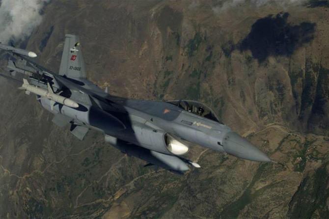 Eruh'ta hava destekli operasyonda 2 PKK'li öldürüldü