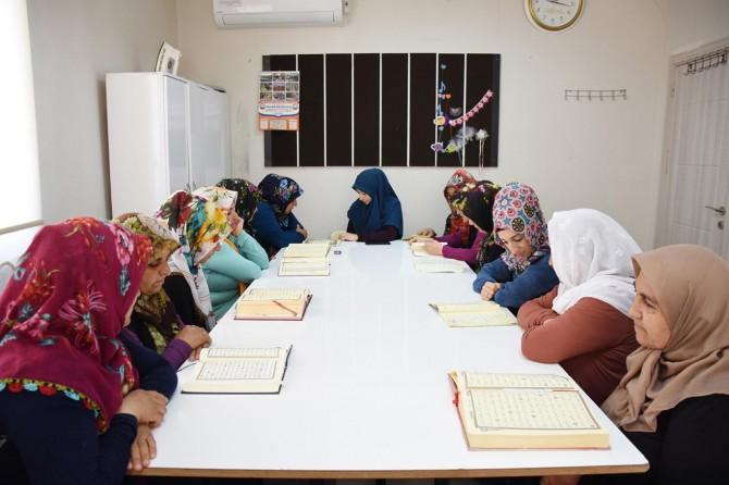 Hilvan'da yaz Kur'an kursları devam ediyor
