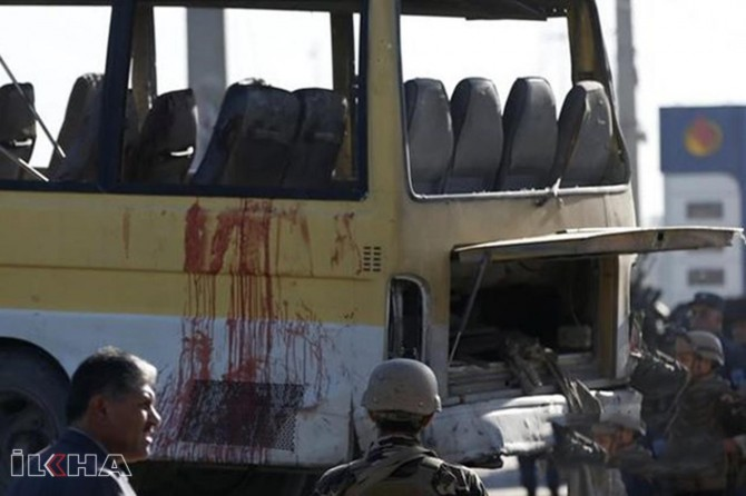 Bomb attack on a bus in Afghanistan leaves 34 dead