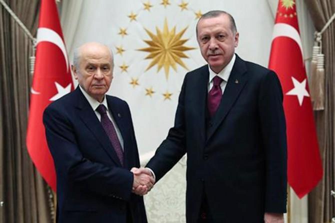 Cumhurbaşkanı Erdoğan, Bahçeli ile görüşecek