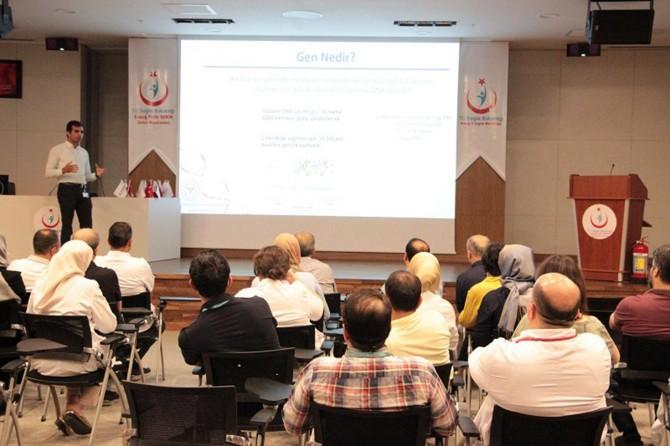 Elazığ'da tıbbi genetik tanıtım toplantısı düzenlendi