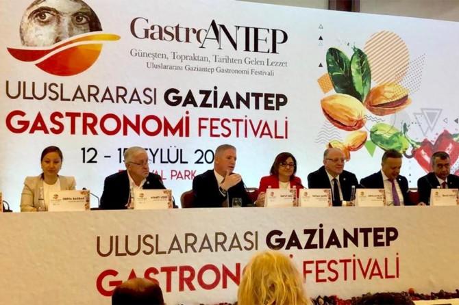 Gaziantep'in lezzetleri için tüm şehir bir arada