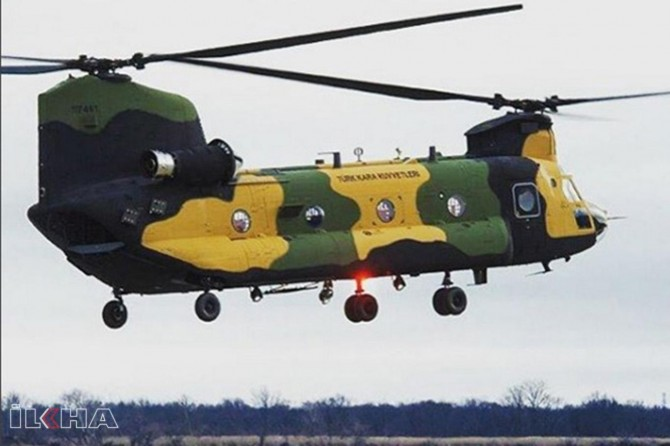 Turkey receives four more Chinook helicopters