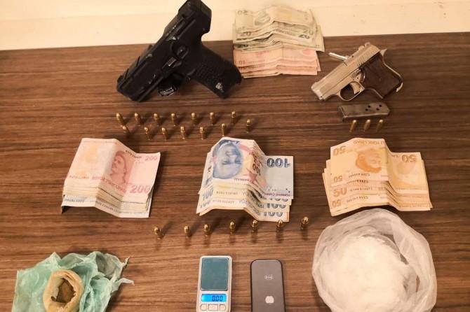 Gaziantep Şahinbey'de uyuşturucu operasyonunda 1 tutuklama
