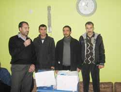 Çermik'te Meal Sınavında Dereceye Girenler Ödüllendirildi