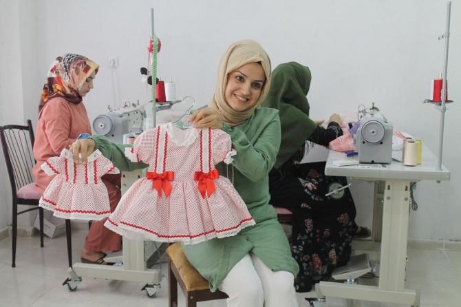 Bir dikiş makinesiyle Arap ülkelerine uzanan başarı hikayesi