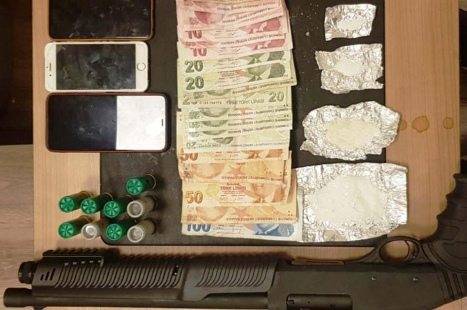 Şahinbey'de uyuşturucu operasyonunda 1 tutuklama