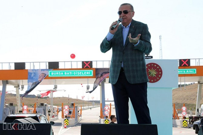 President Erdoğan: We will enter east of the Euphrates