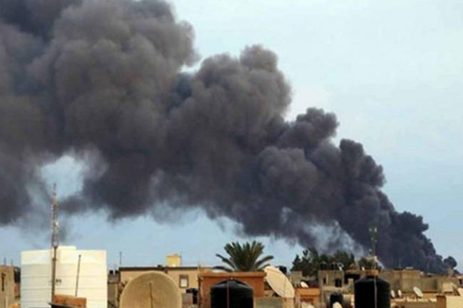 Hafter güçlerinden hava saldırısı: 41 ölü 37 yaralı