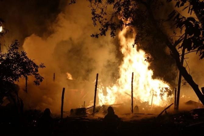 Bursa'da orman yangını 12 saatte söndürüldü