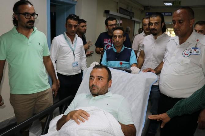 Gaziantep 25 Aralık Devlet Hastanesinde sağlık raporu alamayan şahıs doktoru bıçakladı