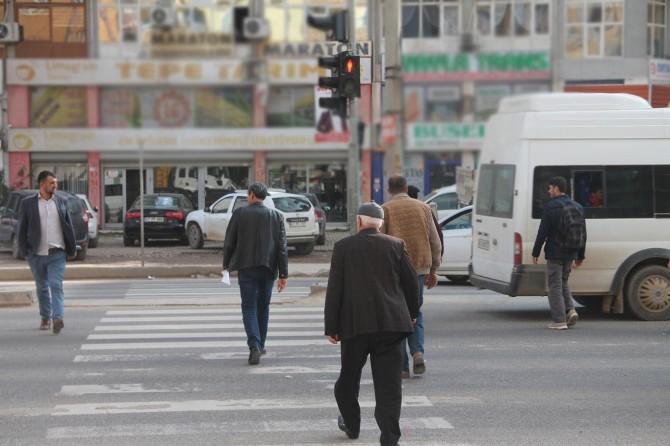 Gaziantep'te yayalara kırmızı ışık cezası