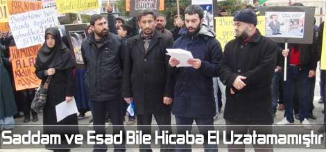 Saddam ve Esad Bile Hicaba El Uzatamamıştır
