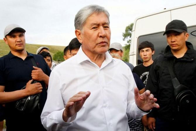 Atambayev'in evine operasyon yarıda kesildi: 1 ölü 45 yaralı