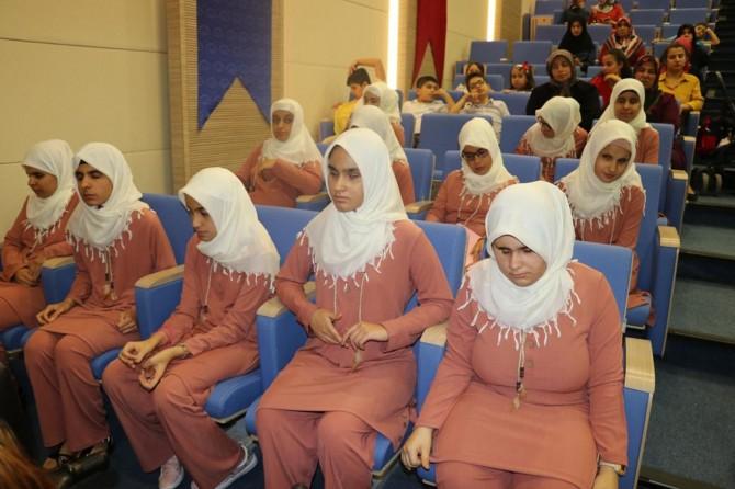 Gaziantep'te görme engelli öğrenciler için yaz Kur'an kursu kapanış programı düzenlendi