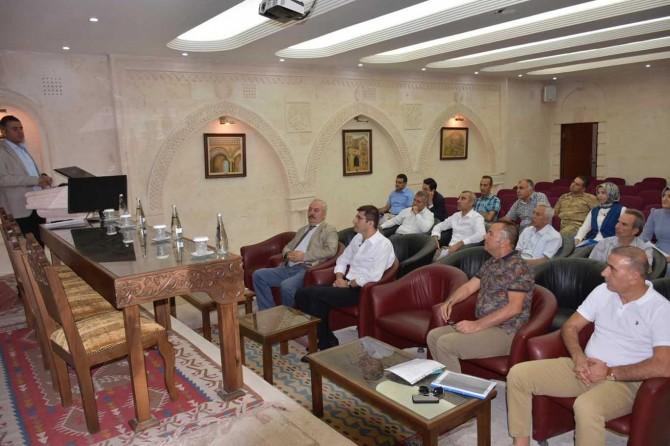 Mardin'de Pandemik İnfluenza Faaliyet Planı toplantısı