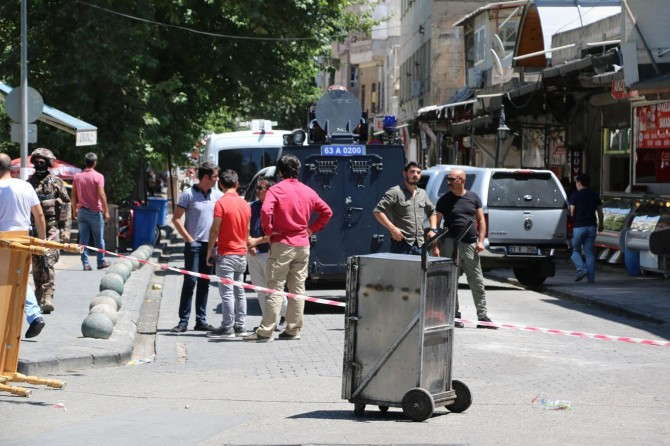 Suicide bomb panic in Şanlıurfa, SE of Turkey