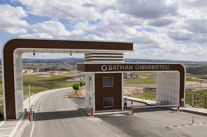 Batman Üniversitesinin kontenjanlarının yüzde 95'i doldu
