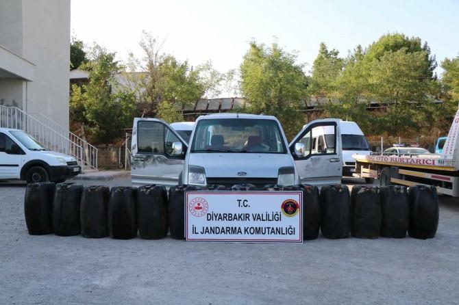 Diyarbakır Kayapınar'da petrol çalan hırsız yakalandı