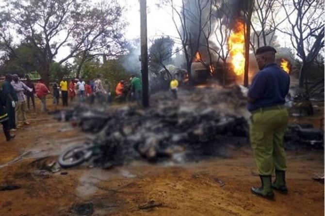 Li Tanzanyayê tankêra sotemenîyê teqîya: 70 mirî