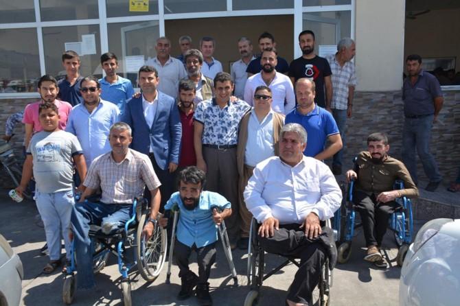 MÜSİAD'dan Şırnak'ta engellilere bayram yardımı