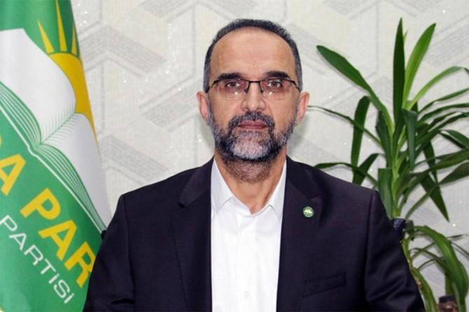 HÜDA PAR Genel Başkanı Sağlam'dan Kurban Bayramı mesajı