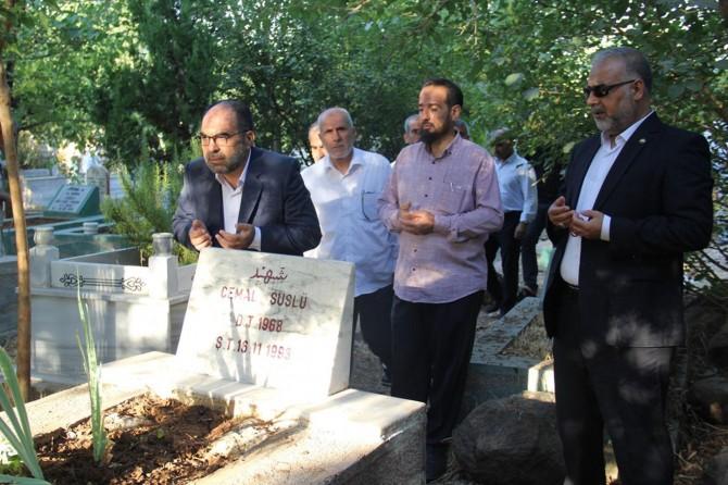 HÜDA PAR Diyarbakır Başkanı Aktaş'tan şehit kabirlerine ziyaret