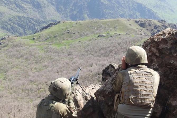 Yüksekova'da öldürülen PKK'li sayısı 4 oldu