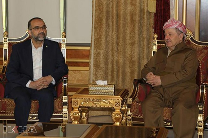 Barzani conveys condolence message for the late Mehmet Yavuz