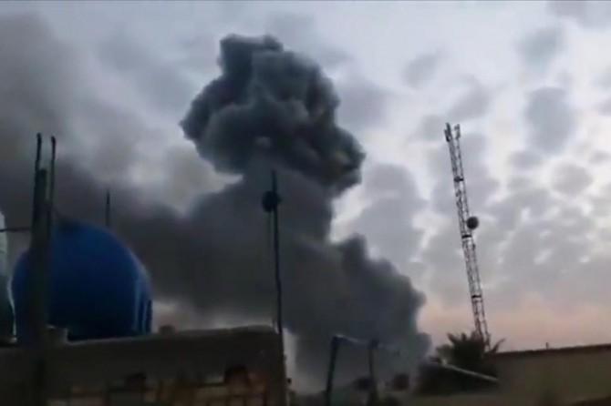 Bağdat'ta silah deposunda patlama: 1 ölü