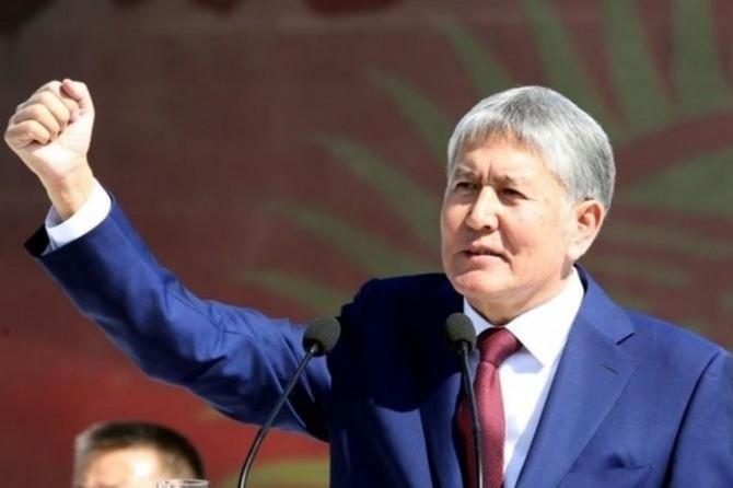 Eski Cumhurbaşkanı Atambayev darbe hazırlığı içindeydi