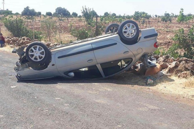 Hilvan'da trafik kazaları: 9 yaralı
